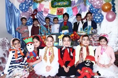 جشن عید نوروز ۹۸ کودکان بهشتی